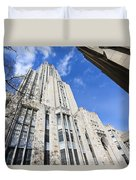 The Cathedral Of Learning 5 Duvet Cover