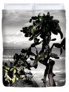 The Catus Tree Siesta Key Florida Duvet Cover