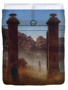 The Cemetery Duvet Cover