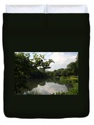 The Central Park Pond Duvet Cover