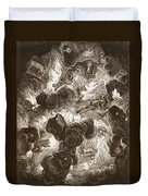 The Chaos, Engraved By Bernard Picart Duvet Cover