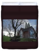 The Chapel At Eagle Point National Cemetery Duvet Cover