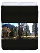 The Chapel Yosemite Duvet Cover