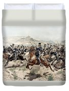 The Charge Of The Light Brigade, 1895 Duvet Cover