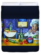 The Chef Duvet Cover