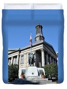 The Chester County Courthouse In West Chester Pa Duvet Cover