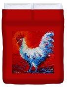 The Chicken Of Bresse Duvet Cover