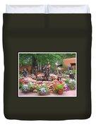 The Children Sculpture Garden - Santa Fe Duvet Cover