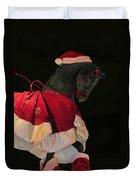 The Christmas Horse Duvet Cover