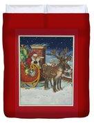 The Christmas List Duvet Cover