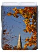 The Church In Goshen Duvet Cover