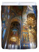 The Church Of Our Savior On Spilled Blood - St. Petersburg - Russia Duvet Cover
