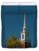 The Church Of The Redeemer Duvet Cover