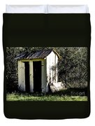 The Church Outhouse Duvet Cover