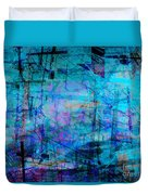 The City 15a Duvet Cover