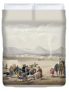 The City Of Candahar, From Sketches Duvet Cover