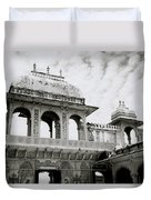 The City Palace Udaipur Duvet Cover