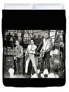 The Clash 1982 Duvet Cover by Chuck Spang