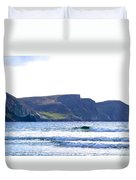 The Cliffs Of Western Eire Duvet Cover