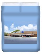 The Clock Drive-in Duvet Cover
