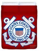 The Coast Guard Shield Duvet Cover