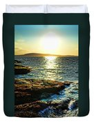 The Coast Of Maine Duvet Cover