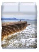 The Cobb - Lyme Regis Duvet Cover