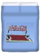 The Coca-cola Corner Duvet Cover