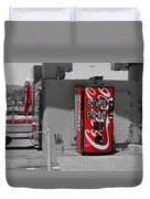 The Coke Machine Duvet Cover