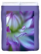The Color Purple Duvet Cover by Kathy Yates