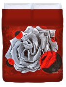 The Color Red Two Duvet Cover