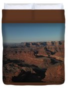 The Colorado River At Dead Horse State Park Duvet Cover