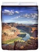 The Colors Of Canyonlands Duvet Cover