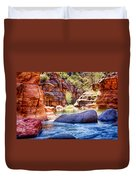 The Colors Of Oak Creek Duvet Cover