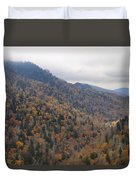 The Colors Of The Smokies Duvet Cover