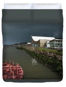 The Columbia River Maritime Museum Sits Duvet Cover