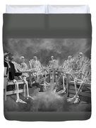 The Committee Reaches Enlightenment II Duvet Cover
