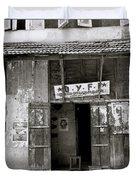 The Communist Reading Room In Cochin Duvet Cover