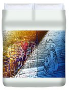 The Competitors Duvet Cover