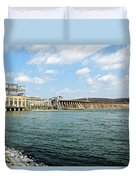 The Conowingo Dam Duvet Cover