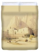 The Convent Of St. Catherine Duvet Cover