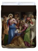 The Conversion Of Mary Magdalene Duvet Cover