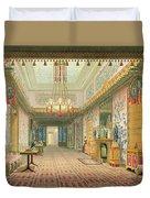 The Corridor Or Long Gallery Duvet Cover