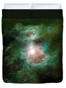 The Cosmic Hearth Duvet Cover