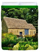 The Cotswald Barn And Dovecove Duvet Cover