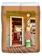 The Country Barber Duvet Cover