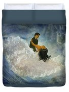 The Couple's First Dance Duvet Cover