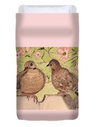 The Courtship Duvet Cover