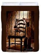 The Cowboy Chair Duvet Cover