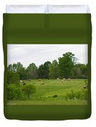 The Cows Of May Duvet Cover